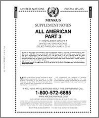 MINKUS: ALL-AMERICAN 2015 PT. 3 UNITED NATIONS (23 PAGES)