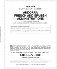 MINKUS: ANDORRA 2007 SUPPLEMENT (3 PAGES)