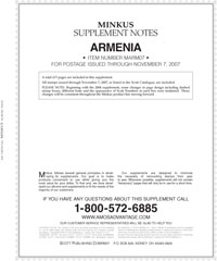 MINKUS: ARMENIA 2007 SUPPLEMENT (6 PAGES)