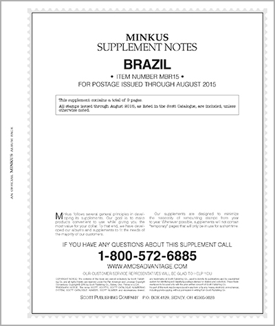 MINKUS: BRAZIL 2015 (10 PAGES)