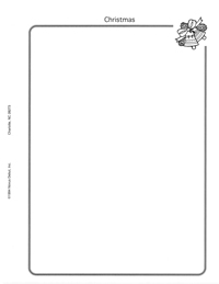 MINKUS TOPICAL ALBUM BLANK PAGES: CHRISTMAS (50 pgs per pack)