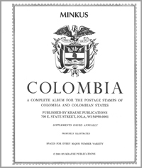 MINKUS: COLOMBIA ALBUM PAGES THRU 1996
