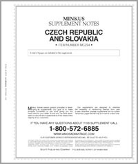 MINKUS: CZECHOSLOVAKIA 1994 SUPPLEMENT (9 PAGES)