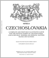 MINKUS: CZECHOSLOVAKIA ALBUM = 283 PAGES 1918--1994