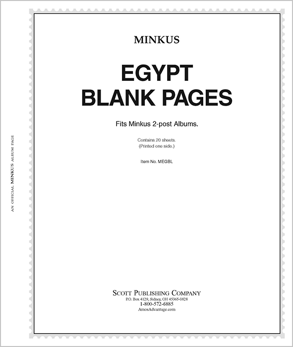 Minkus Egypt - Blank Pages