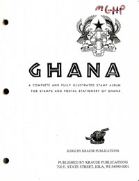 MINKUS: GHANA ALBUM PAGES THRU 1997 (478 PAGES)