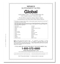 MINKUS: WORLDWIDE GLOBAL 2009 SUPPLEMENT PT. 1  (380 PAGES)