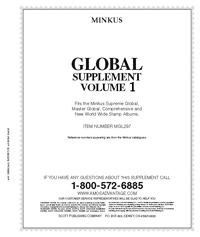 MINKUS: WORLDWIDE GLOBAL 1997 SUPPLEMENT PT. 1 (490 DOUBLE-SIDED PAGES)