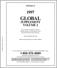 MINKUS: WORLDWIDE GLOBAL 1997 SUPPLEMENT PT. 2 (260 PAGES)