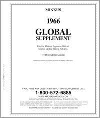 MINKUS: WORLDWIDE GLOBAL 1966 SUPPLEMENT (338 pages)