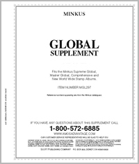 MINKUS: WORLDWIDE GLOBAL 1978 SUPPLEMENT (446 PAGES)
