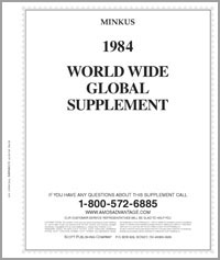MINKUS: WORLDWIDE GLOBAL 1984 SUPPLEMENT (556 PAGES)
