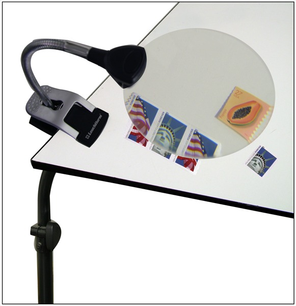 Flexible Illuminated Table Magnifier