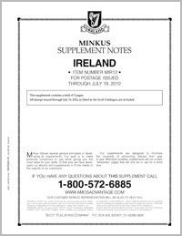MINKUS: IRELAND 2012 (6 PAGES-3 RING)