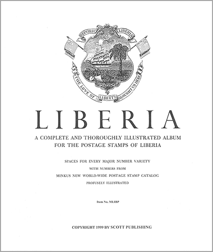 MINKUS: LIBERIA ALBUM PAGES THRU 1996 (226 PAGES)