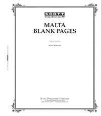 BLANK PAGES: MALTA  (20 PAGES)