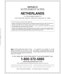 MINKUS: NETHERLANDS 2007 SUPPLEMENT (16 PAGES)