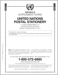 MINKUS: UN POSTAL STATIONERY 2011 (6 PAGES)