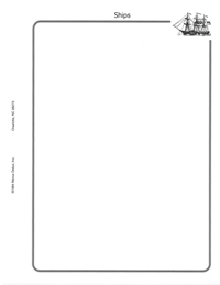 MINKUS TOPICAL BLANK PAGES: SHIPS (50 pgs per pack)