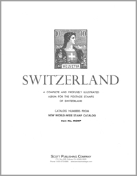 MINKUS: SWITZERLAND ALBUM PAGES THRU 2000