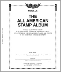 MINKUS: ALL-AMERICAN ALBUM PAGES THRU 2001 (536 PAGES)