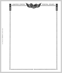 MINKUS BLANK PAGES: ALL-AMERICAN (2-POST - PACK OF 20 PAGES)