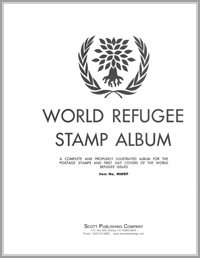 MINKUS TOPICAL ALBUM: WORLD REFUGEE YEAR (80 PAGES)