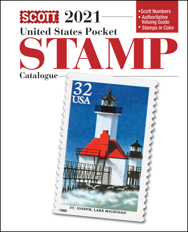2021 Scott U.S. Stamp Pocket Catalogue
