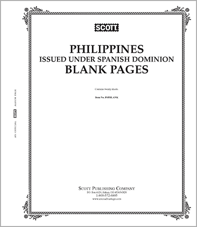 BLANK PAGES: PHILIPPINES UNDER SPANISH ADMINISTRATION (20 PAGES)