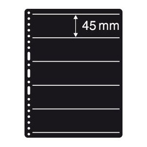 Prinz Black Stock Page - 5 Row / 1 Sided (10-Pack)