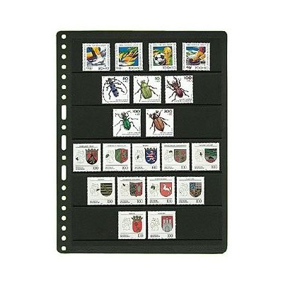 Prinz Black Stock Page - 6 Row / 1 Sided (10-Pack)