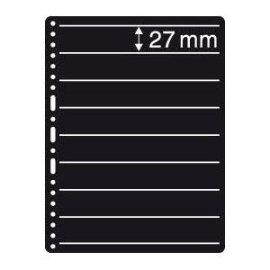 Prinz Black Stock Page - 8 Row / 2 Sided (10-Pack)