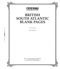 BLANK PAGES: BRITISH SOUTH ATLANTIC (20 PAGES)
