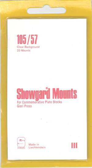 105/57 U.S. GIORI PRESS ISSUES (20 CLEAR MOUNTS)