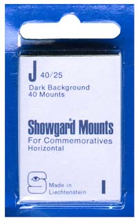 40/25 US COMMEM. - HORIZONTAL (40 BLACK MOUNTS)