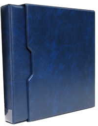 3-RING BINDER WITH SLIPCASE (BLUE)