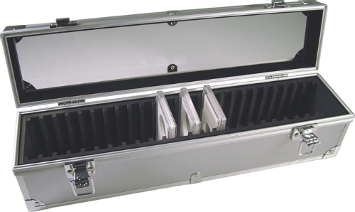 ALUMINUM 25 SLAB UNIVERSAL DISPLAY/STORAGE BOX