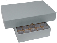 SBA/SACAGAWEA  DOLLAR TUBE STORAGE SET (1 BOX + 40 ROUND TUBES)