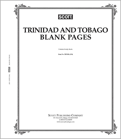 BLANK PAGES: TRINIDAD & TOBAGO (20 PAGES)