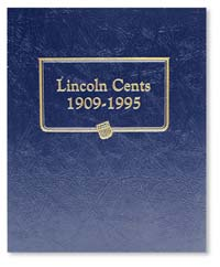WHITMAN ALBUM: LINCOLN CENTS 1909-1995