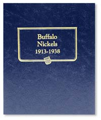 WHITMAN ALBUM: BUFFALO NICKELS 1913-1938