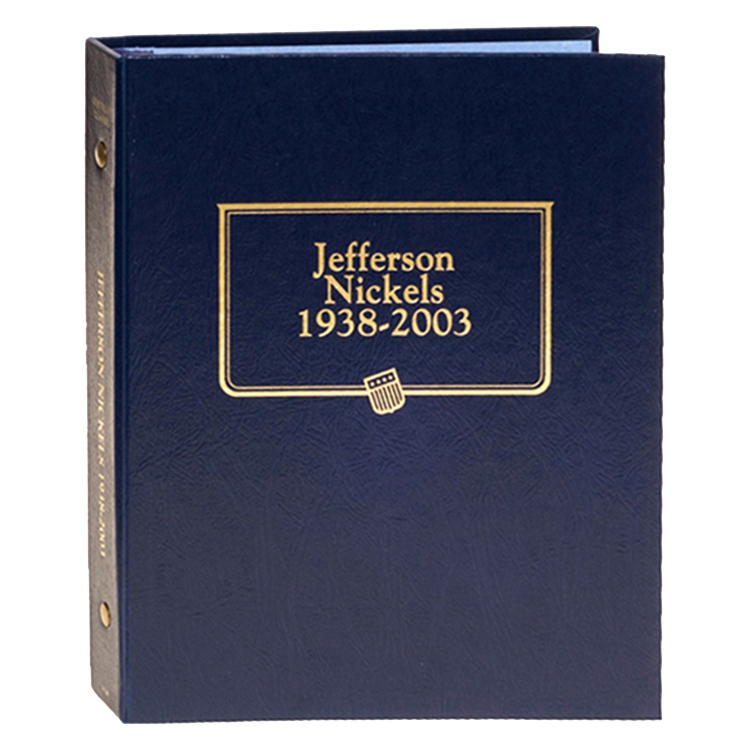 Whitman Jefferson Nickels 1938-2003