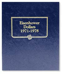 WHITMAN ALBUM: EISENHOWER DOLLARS 1971-78