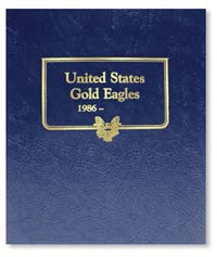 WHITMAN ALBUM: US GOLD EAGLES 1986-95+