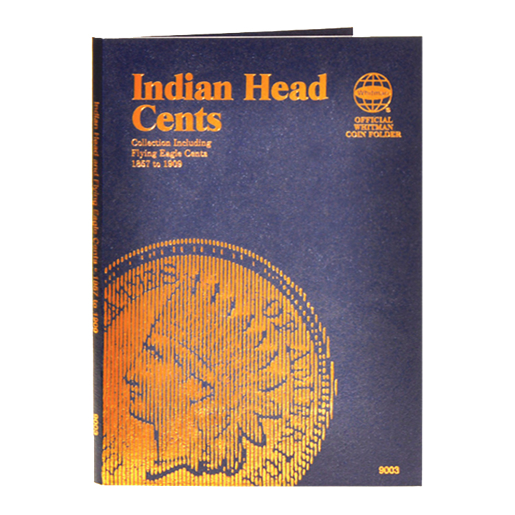 Whitman Indian Cents 1856-1909 Folder