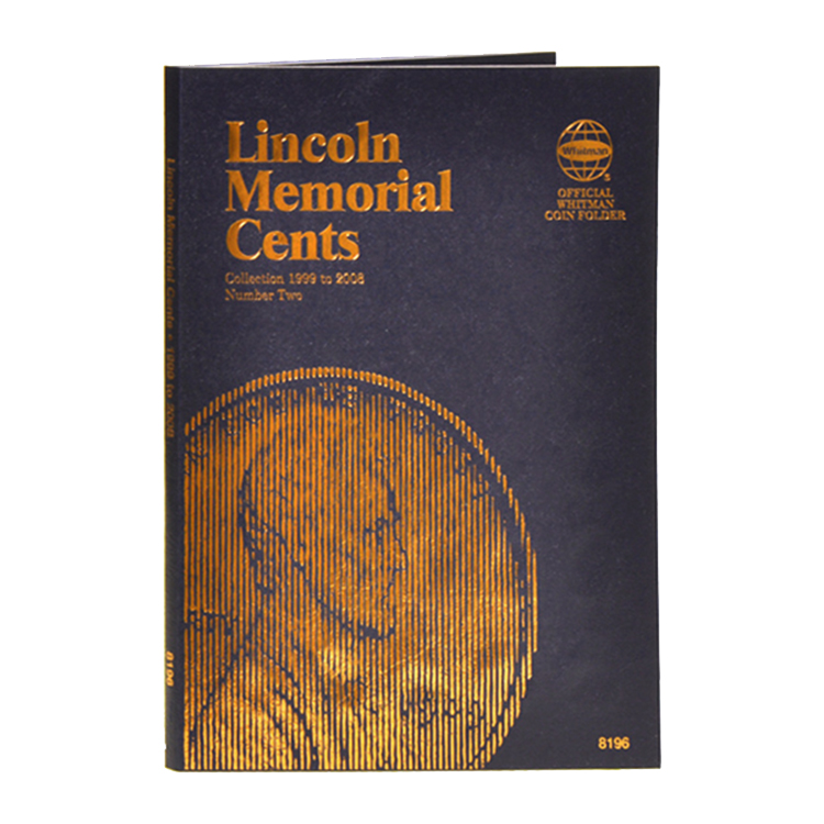 Whitman Lincoln Memorial Cents 1999-Date Folder