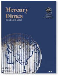 WHITMAN FOLDER: MERCURY DIMES 1916-45
