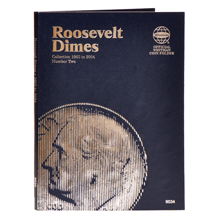 Whitman Roosevelt Dimes 1965-2004 (Vol. 2) Folder