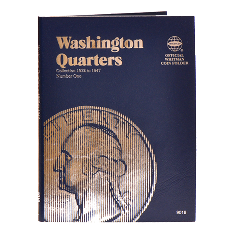 Whitman Washington Quarters 1932-1947 (Vol. 1) Folder