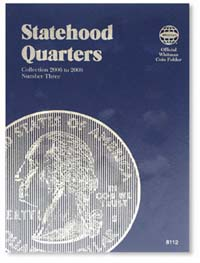WHITMAN FOLDER: STATEHOOD QUARTERS 2006-2008 (VOL. 3)
